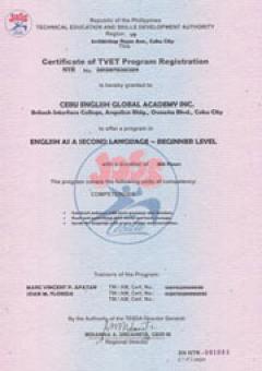 Beginner Certificate